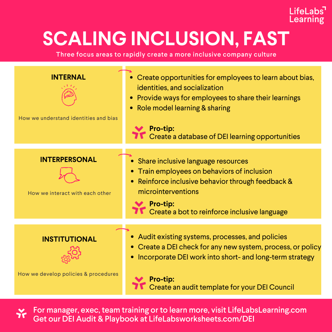 Scaling Inclusion Fast graphic